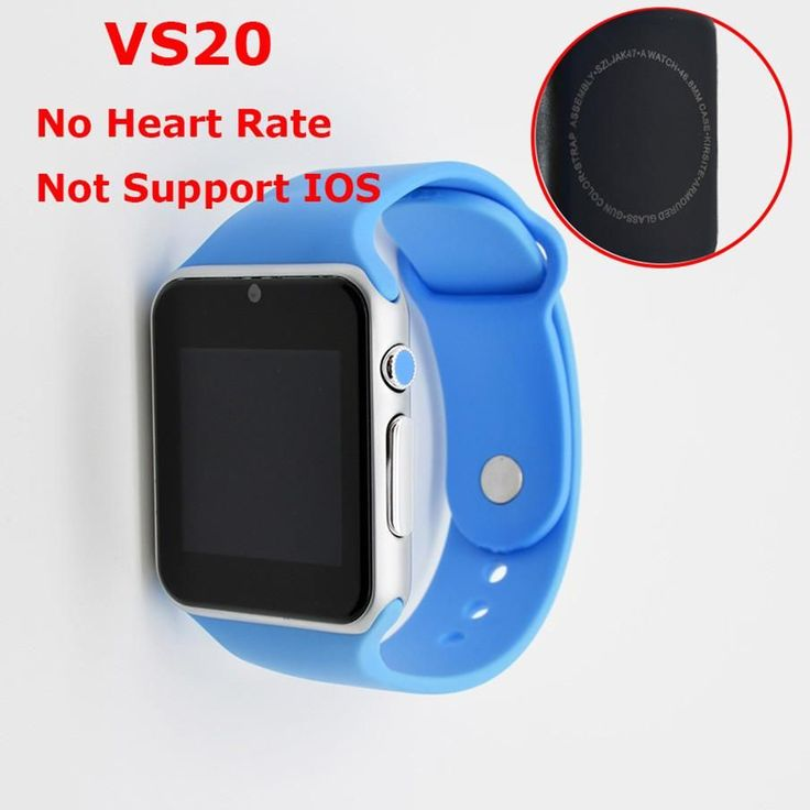ColMi Smart Watch VS20 Plus Heart Rate SIM Card Compatible IOS Android Bluetooth Connect Apple Phone Push APP Message Smartwatch