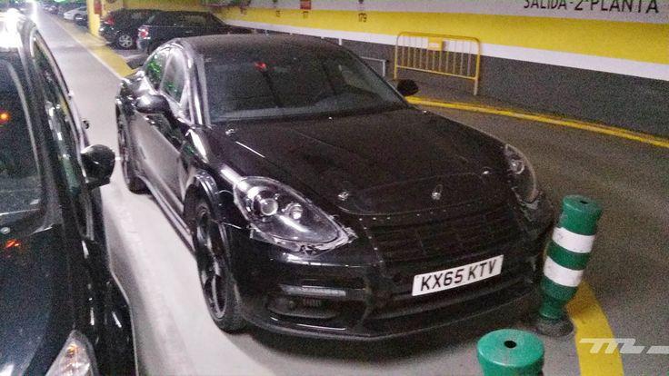 Habrá un Porsche Cayenne Coupé. Es sólo una cuestión de tiempo como lo sugiere está mula
