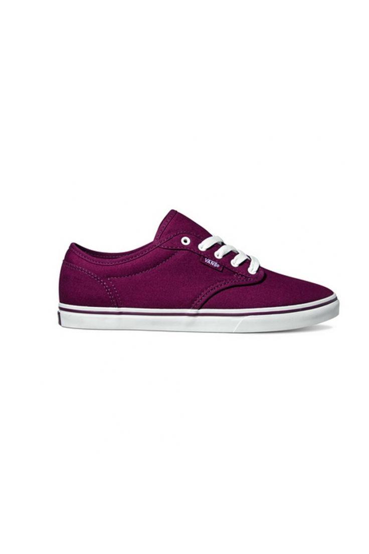 Pantofi sport pentru femei marca Vans W ATWOOD LOW (Canvas) Burgun
