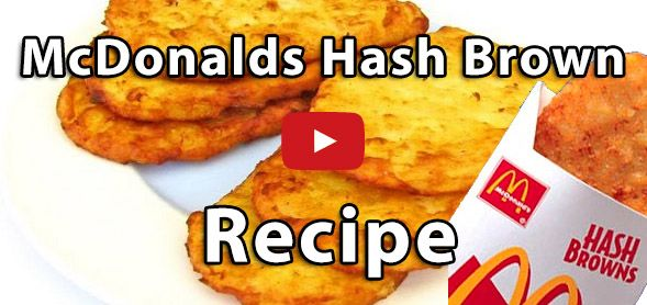Fast Food Style Hash Brown Recipe