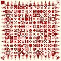 >FREE - a Dear Jane sampler in x stitch. Very nice work and very generous of this designer.< - Whoo hooo! Found a CROSS STITCH VERSION of this quilt! AWESOME!! Dreaming big time here... colors fabric, etc. It is 695 x 695. BIG!! >Squealing!!