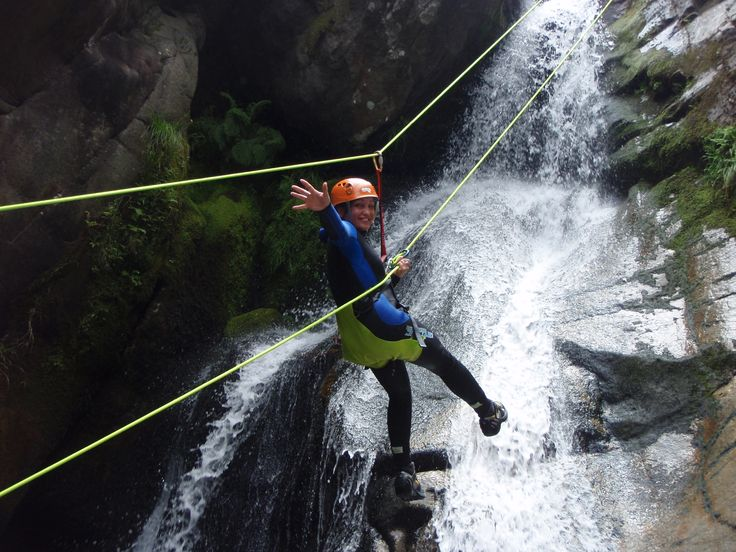 Canyoning in Gerês | Keen Tours | The Peneda-Gerês National Park, with its 700 km2, goes from the Mourela plateau to Castro Laboreiro, and includes the mountain ranges of Gerês, Peneda...