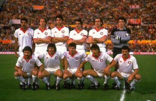 AS Roma, subcampeon europeo de 1984