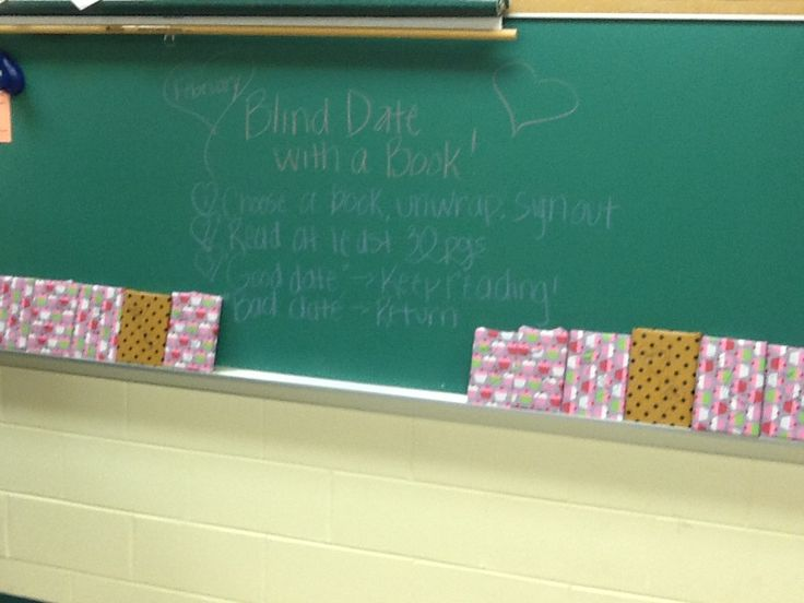 "Love this idea to teach kids giving a book a chance.  ""Blind Date with a Book""  Activity for independent reading.  Wrap up books and decorate with key words that relate to each.  Students pick a book, unwrap it, record it and read for 30 pages.  Good date=keep it, finish it, review it.  Bad date=return it, and write about why it wasn't the book for you.  Great ""get to know yourself as a reader"" activity!"
