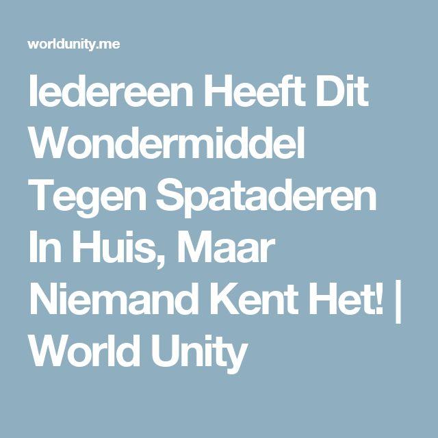 Iedereen Heeft Dit Wondermiddel Tegen Spataderen In Huis, Maar Niemand Kent Het! | World Unity