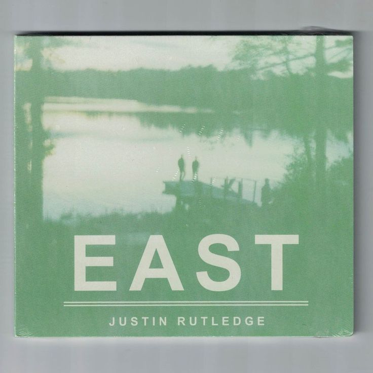 East JUSTIN RUTLEDGE CD NEW sealed