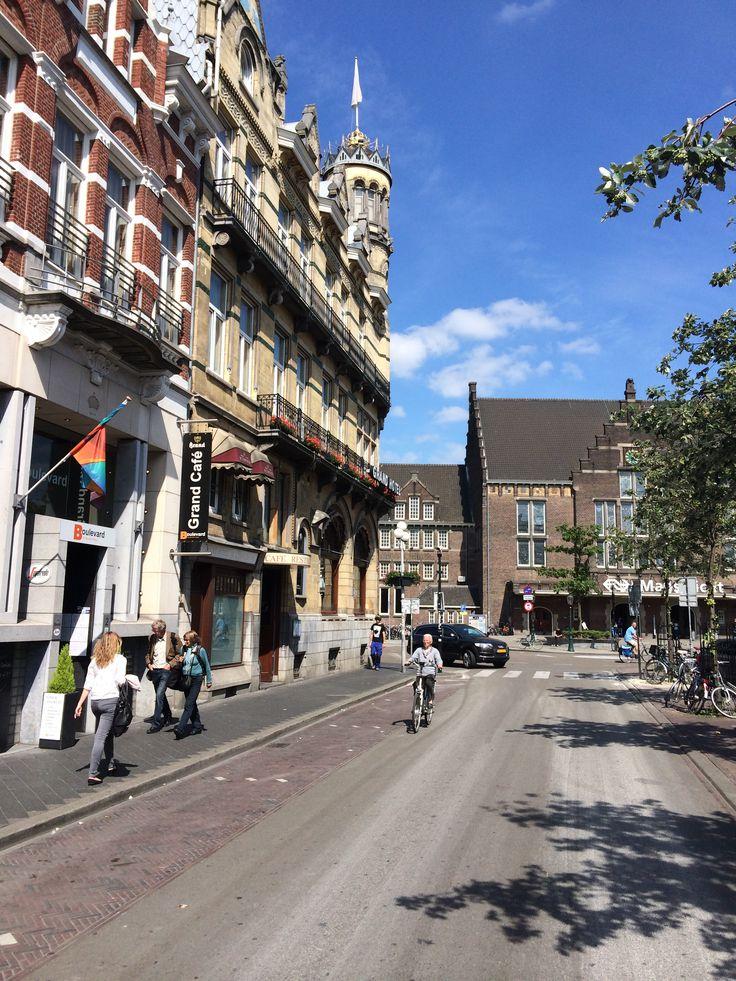 Stationsstraat, Maastricht, Zuid-Limburg.