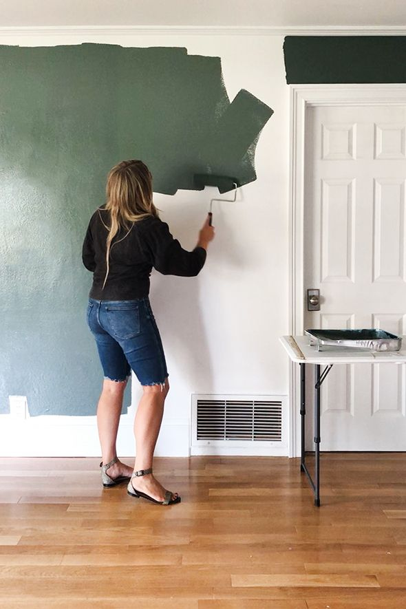 How To Paint A Bedroom In One Hour Hogar Casas Aseos