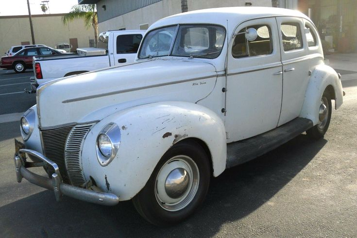Ready To Roll Survivor: 1940 Ford Deluxe Sedan - https://barnfinds.com/ready-to-roll-survivor-1940-ford-deluxe-sedan/