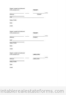 Free Pro Landlord Monster Lease Printable Real Estate Forms