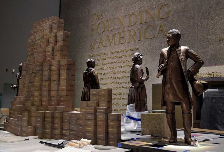 Preparations are finalized on Sept. 14, for the opening of the National Museum of African American History and Culture on Sept. 24, 2016, in Washington, D.C.
