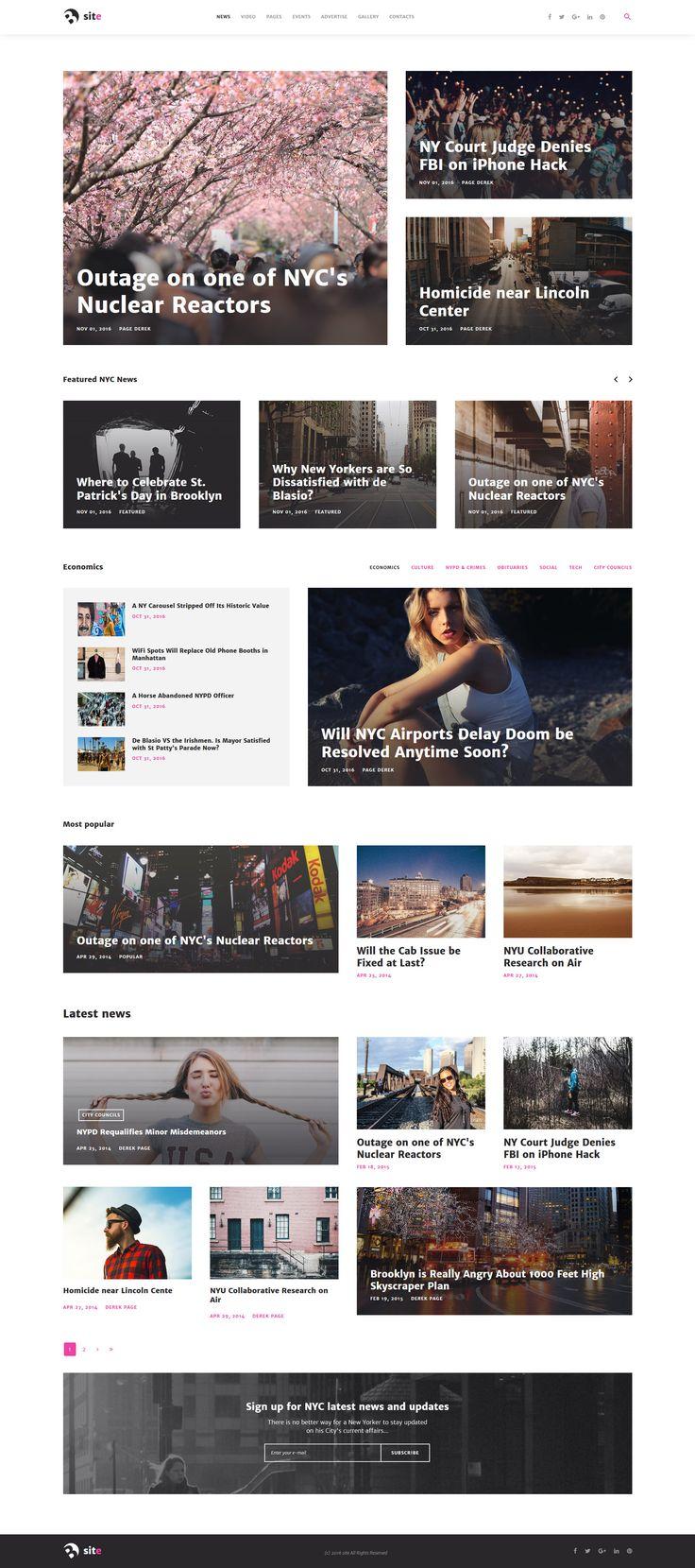 News Portal Responsive Joomla Template - https://www.templatemonster.com/joomla-templates/news-portal-responsive-joomla-template-61405.html