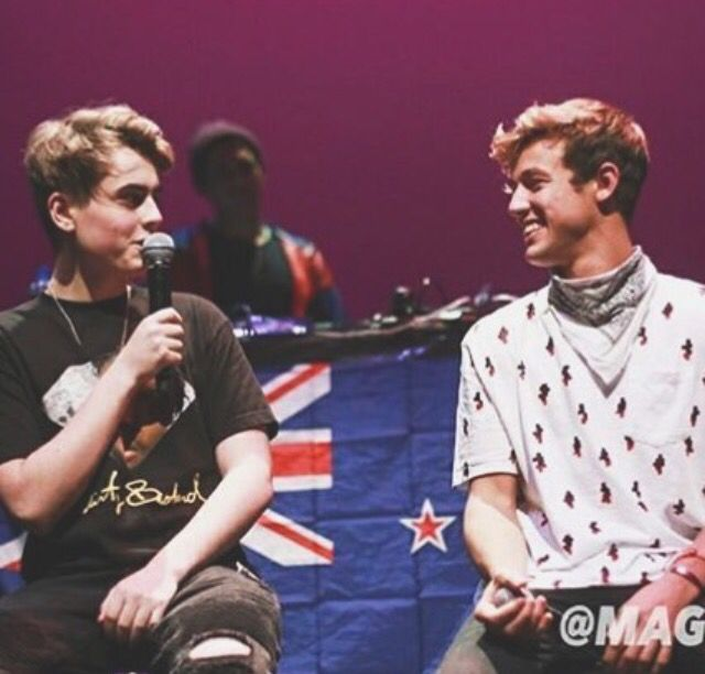 Chris miles and Cameron Dallas