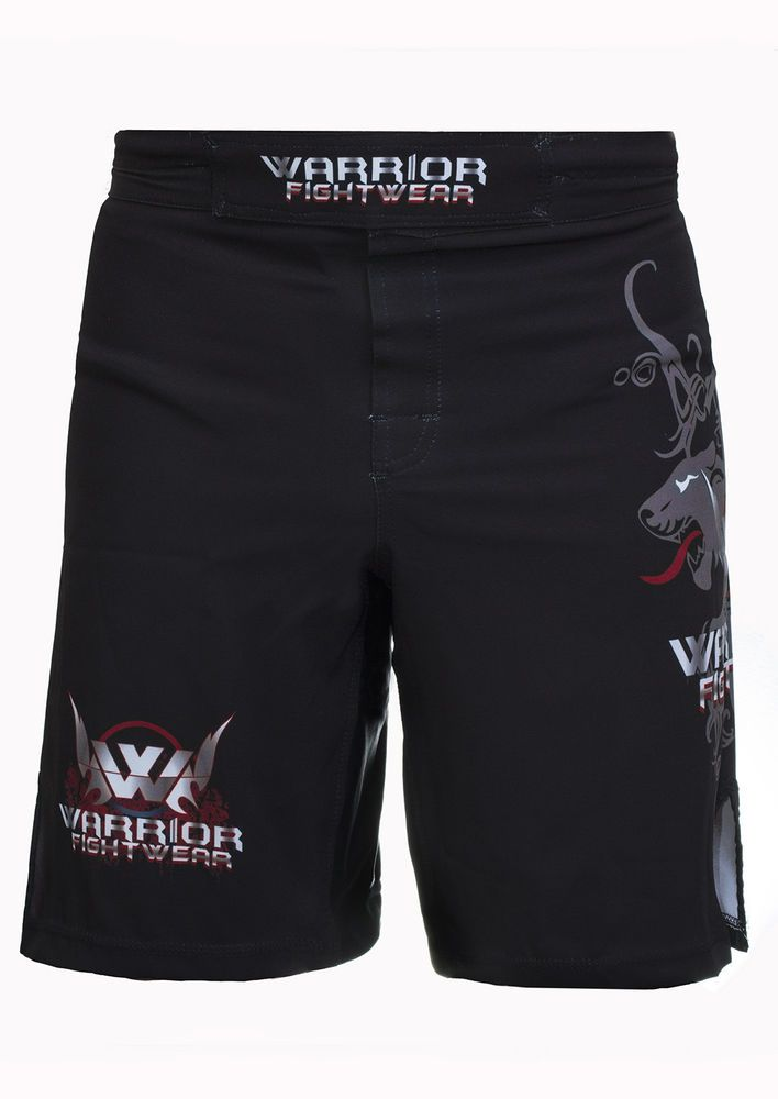 Warrior Fight Wear Panther MMA Martial Art Muay Thai Shorts Trunks Boxing   | eBay