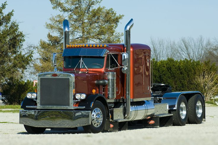 Trucks Custom Big Rig Orange : Custom big rigs wallpapers peterbilt truck