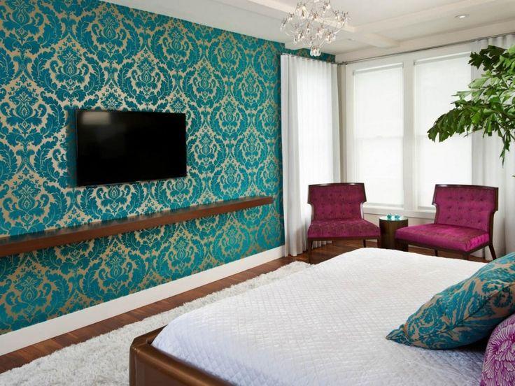 Bedroom Ideas Teal best 25+ teal wallpaper ideas on pinterest | turquoise pattern
