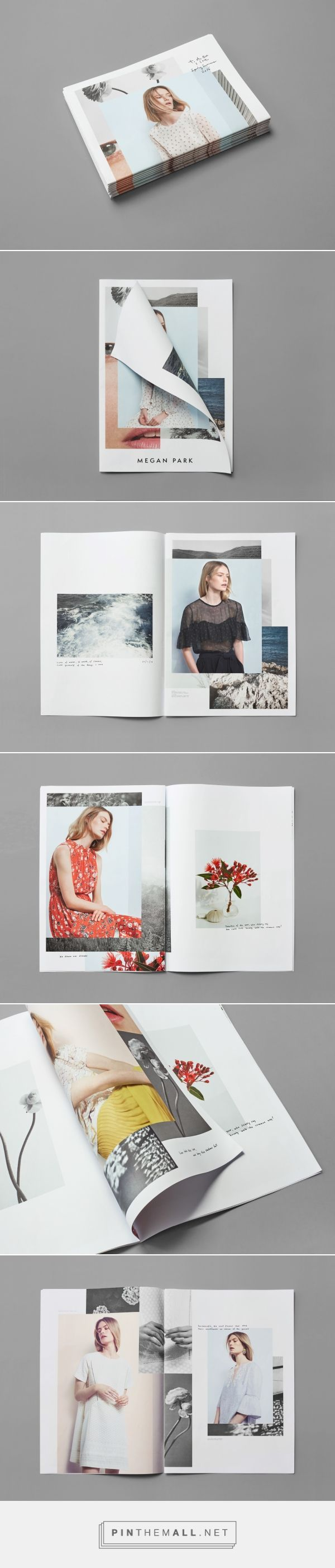 Ortolan : Projects : Print + Design : Megan Park Summer '16 Catalogue