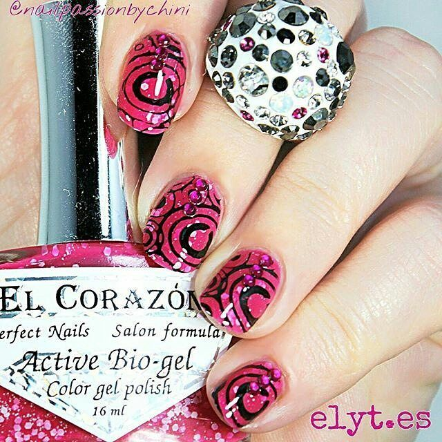 repost via @instarepost20 from @nailpassionbychini BY THE WAY TIME!!   And by the way this very simple (again ) stamping design so easy to recreate!! I used: - Bio gel jelly Girl on a Carnival n. 211 by El Corazón - stamping plate ck 09 - stamping polish Kind of Black by Colour ALIKE - mrs elyt pero off barrier ( liquid tape) - mrs elyt DIAMOND top coat - Strawberry Crystals  All products available at www.elyt.es @entrelazosytelas  USE MY CODE PASSIONBYCHINI FOR A 15% OFF IN ALL ORDERS!!  LA…