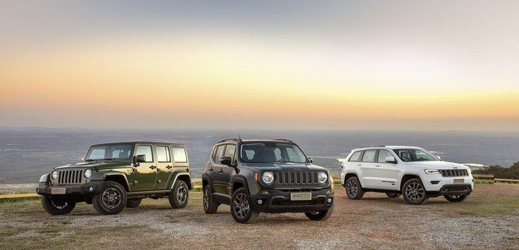 Jeep comemora 75 anos com versões especiais do Renegade, Wrangler e Grand Cherokee Por James Garcia   Entre 2 e 4 de Agosto, 4×4…