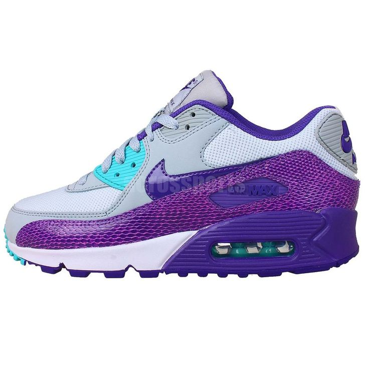 Nike Wmns Air Max 90 Grey Purple Snakeskin 2014 Womens NSW Casual Running  Shoes See our Nike AirMax 90 women's collections: http://www.ebay.com.au…