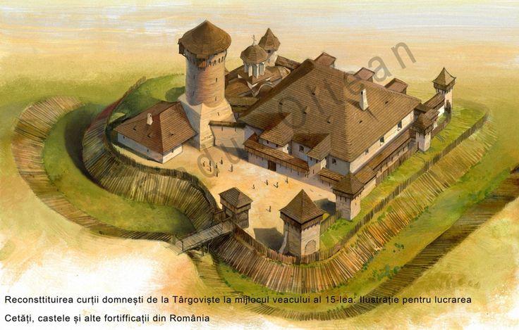 Targoviste - Reconstruction by Radu Oltean