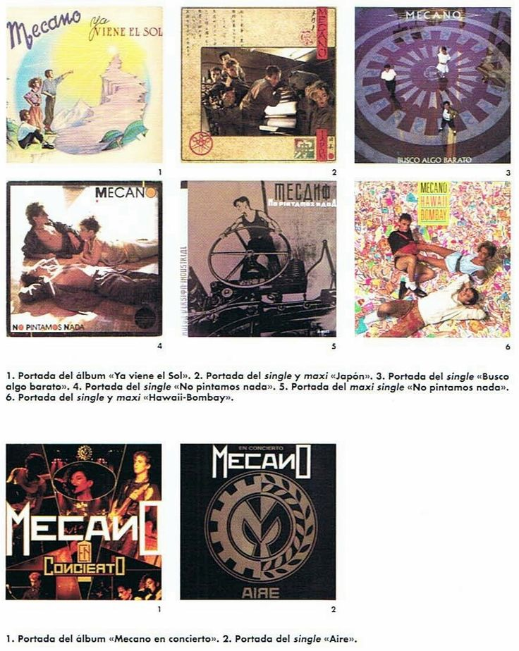 #YaVieneElSol es el tercer álbum de estudio de #Mecano Lanzado en 1984 es un disco que se diferencia notablemente de sus dos trabajos anteriores, ya que introduce sonidos más novedosos, como el Sampler/Workstation Fairlight. & #MecanoEnConcierto es el primer álbum en directo del grupo Mecano, grabado durante dos conciertos que la banda ofreció durante noviembre de 1984 y junio de 1985.