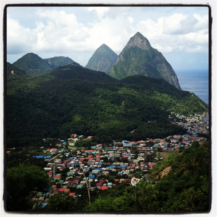 Best Places To Travel In September In The Caribbean: 17 Best Ideas About Pitons St Lucia On Pinterest