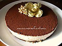 Una torta con crema di ricotta all'interno, non avrete bisogno di tagliare e farcire, si cuoce tutto insieme. Scoprite la ricetta cliccando sul link.