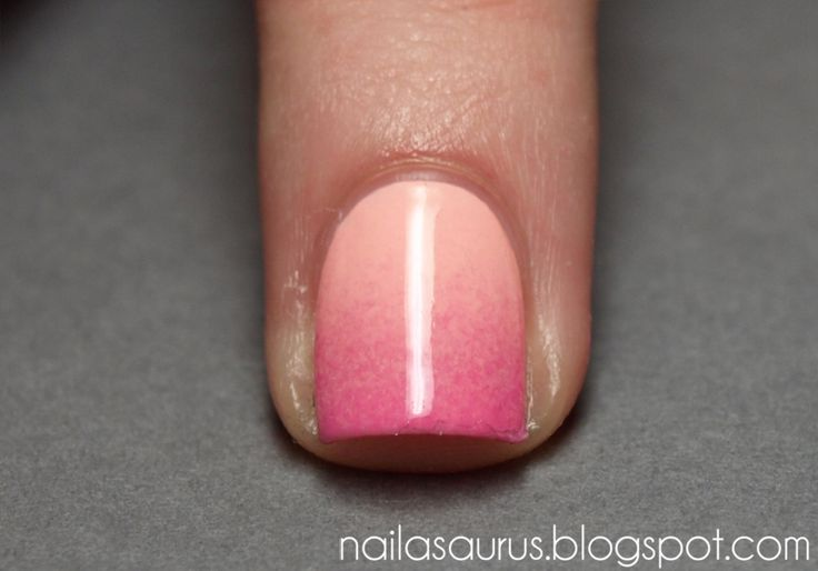 DIY Ombre Nails: Picture, Nail Art Tutorials, Beauty Tips, Makeup, Gradient Nails Tutorial, Nail Tutorials, Ombre Nails, Pink Ombre