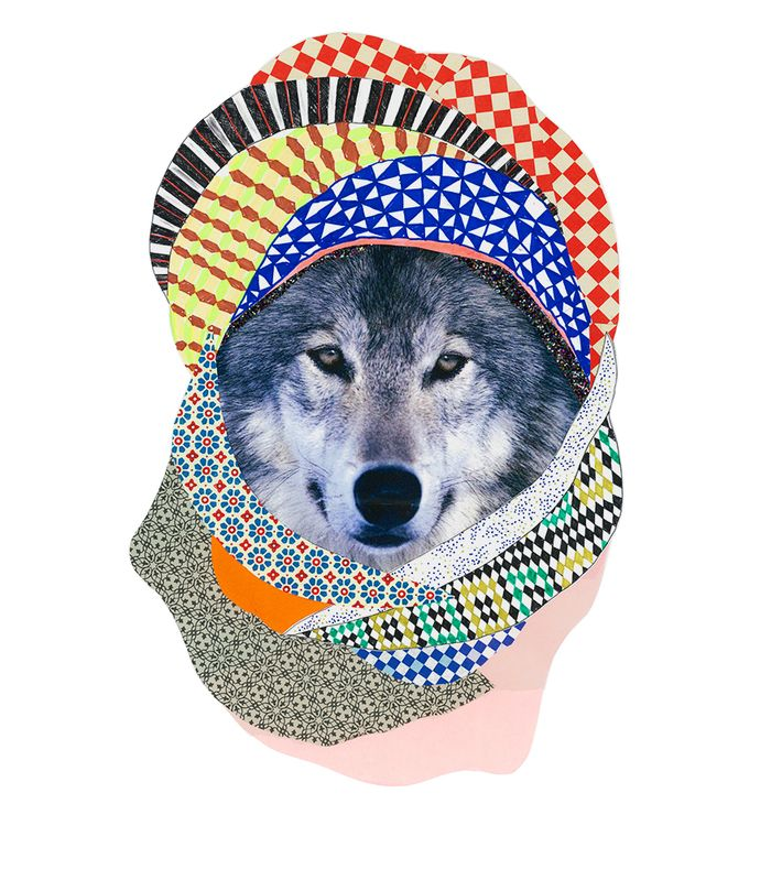 Tex og Jack large offset Poster | 170 g paper | 50x70 cm   ZOO AFTER DARK  Climbing over the fence of the ZOO after dark, Tex and Jack love to hang around with the animals creating costumes for them – especially those who are born to be grey – after an inspiration trip to Morocco Tex og Jack could not resist dressing up the wolf. One of Tex og Jack's favourite disciplines so there are many more to come...  For more inspiration visit www.texogjack.com