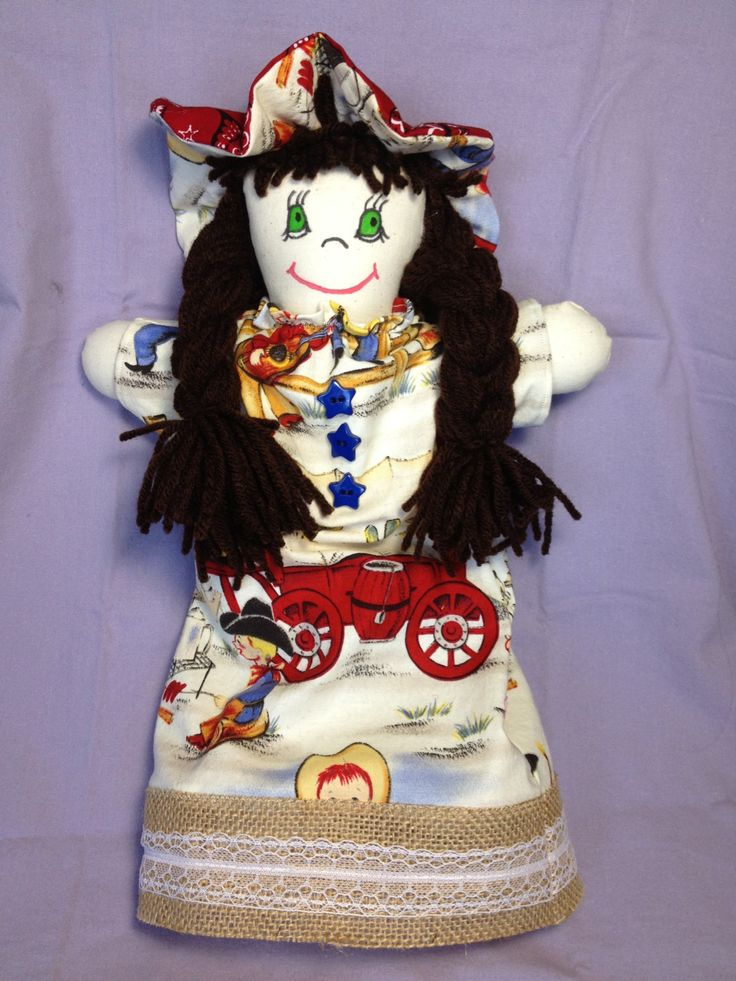 JenDoll #8 Handmade Rag, Cloth Doll by JenDolls on Etsy