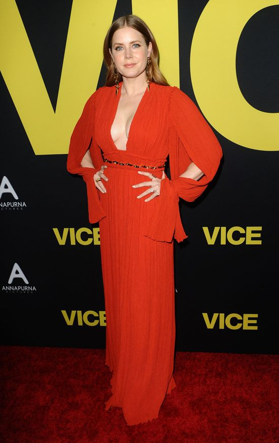 Amy Adams In Chloe At The Vice Los Angeles Premiere In Or Out