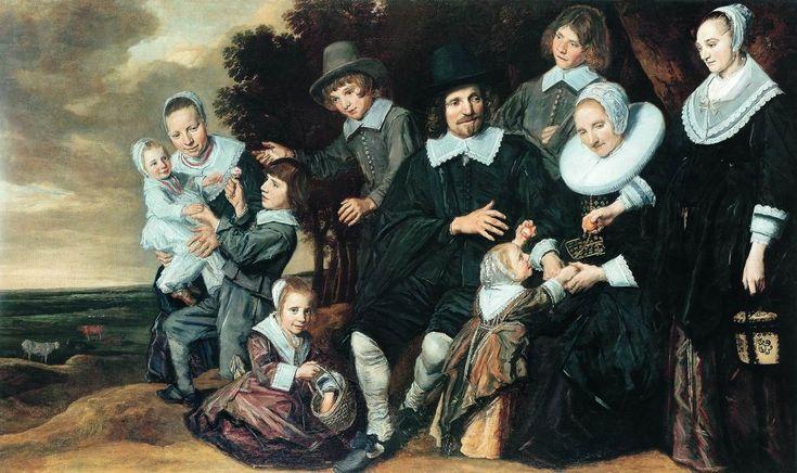 Халс, Франс » Семейный портрет на природе (Около 1647—1650)
