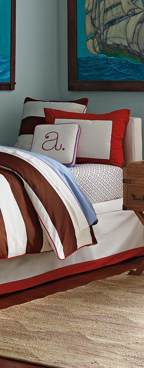 Nfl bedding for boys - Asher Modern Boys Bedding Kids Bedrooms