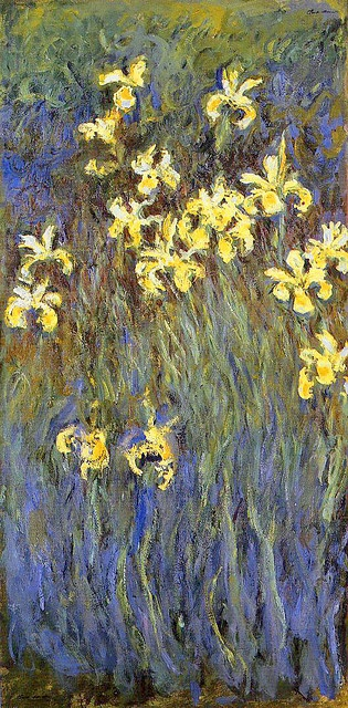 Claude Monet - Yellow Irises (1914-17)