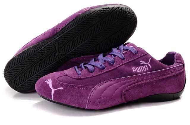 Women Puma Speed Cat Suede SX Purple