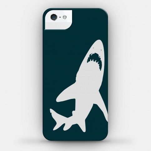 huge discount 40dfa daf65 Shark Case Phone Case | LookHUMAN | Sharks | Shark, Phone cases, Phone
