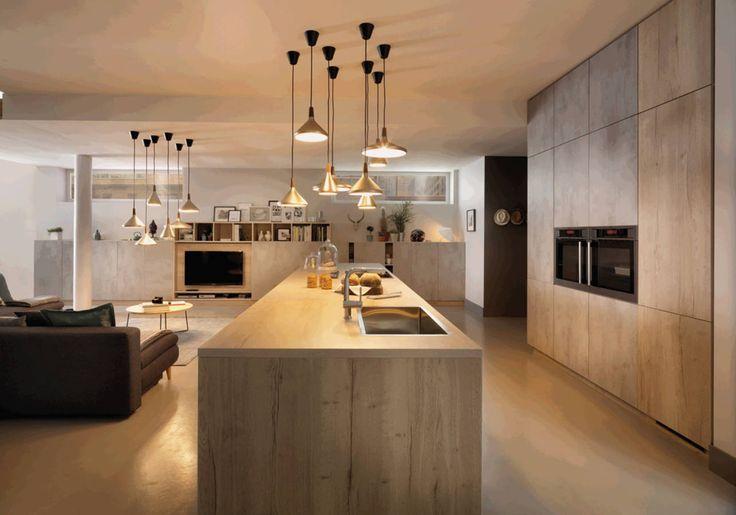 25 best ideas about plan de travail stratifi on - Cuisine noir laque plan de travail bois ...