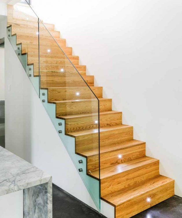 Ideas 19 Modern And Elegant Stair Design Ideas To: Best 25+ Wooden Staircase Design Ideas On Pinterest