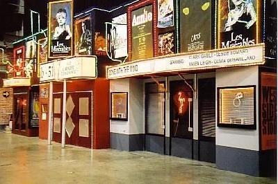 Broadway decor