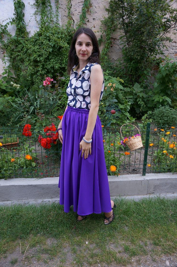 Simple chic: Purple and Dots