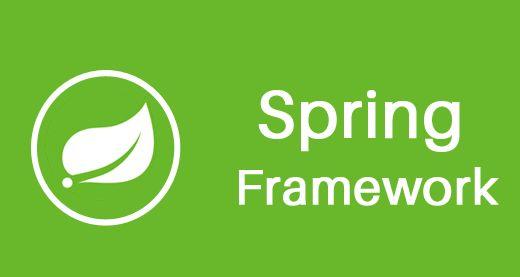 Spring Framework White on Green Logo