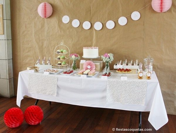 17 best images about eventos de fiestas coquetas on for Mesas dulces cumpleanos adultos