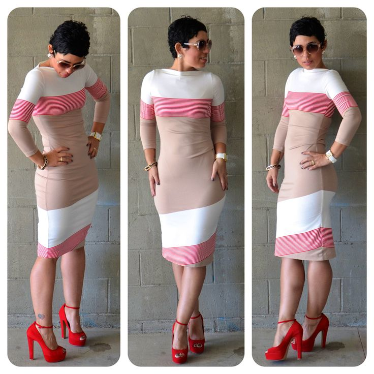 17 Best Images About Color Block On Pinterest: Today's Blog Post: #DIY Dress Using Color-blocked Fabric