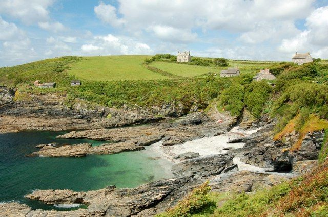 Bessy's Cove.  In 18th- and early 19th-century Britain, taxes on luxury products and even some staples were so high that smuggling flourished in western Cornwall.  Bessy's Cove is famous for being a route that these smuggler's would have taken.