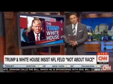 """CNN New Day W/ CHRIS COUMO 9/26/17 BREAKING NEWS, LATEST NEWS TODAY PRESIDENT DONALD TRUMP  TRUMP & WHITE HOUSE INSIST NFL FEUD """"NOT ABOUT RACE""""  CNN New Day W/ CHRIS COUMO 9/26/17 BREAKING NEWS, LATEST NEWS TODAY PRESIDENT DONALD TRUMP"""