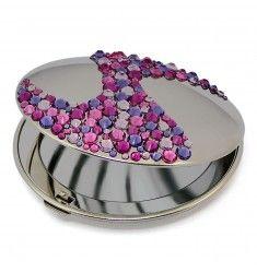 Mont Bleu Corals Luxury Compact Makeup Mirror ACS-08.4