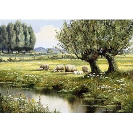 In the open country Canvas Art - Reint Withaar (20 x 28)