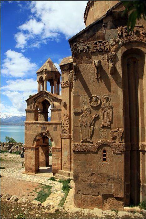 Akdamar island and Church / Van, Turkey
