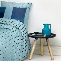 Normann Cube Bed Linen Blue